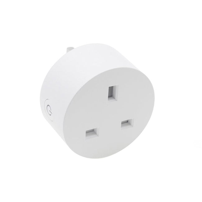 Smart life UK power monitoring WiFi socket wireless plug smart home switch - geex-shop