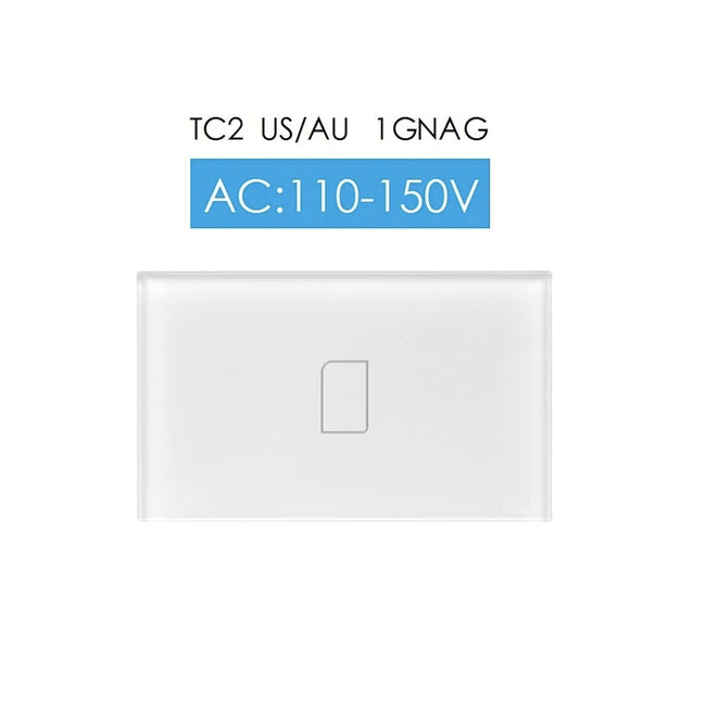 Broadlink TC2 US/AU RF Touch Light Switches 1/2/3Gang 110V 220V Remote Control - geex-shop