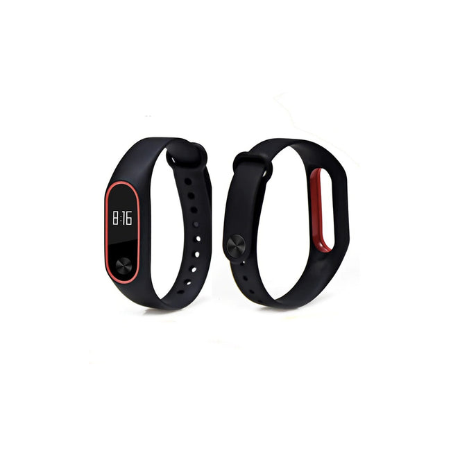 BOORUI Double color accessories pulseira miband 2 for xiaomi mi2 smart bracelet - geex-shop