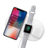 Baseus Wireless Charger For iPhone X XS MAX XR 8 and for Airpods 2019  and Apple Watch 4 3 2 - geex-shop