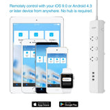 Koogeek Smart USB Power Strip Socket Outlet Surge Protector Individually Controlled 3 outlet - geex-shop