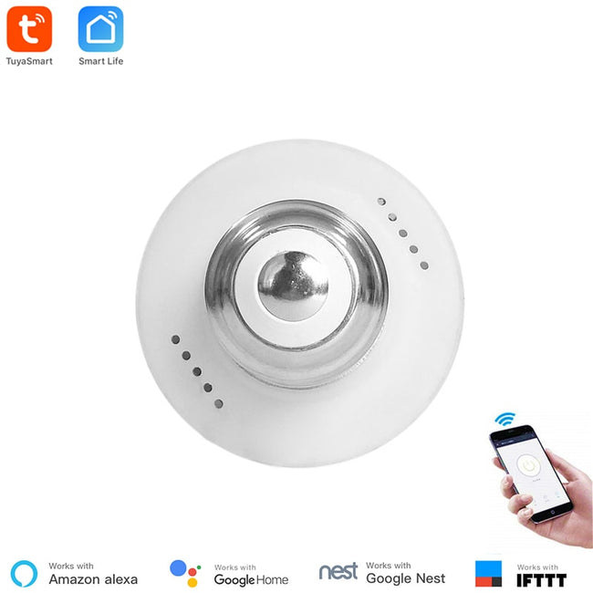 Tuya Smart Slampher WiFi Remote Wifi LED Light Bulb Holder Real Timer - geex-shop