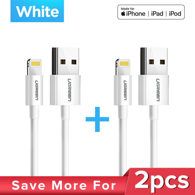 Ugreen USB Lightining Cable for Apple Devices - geex-shop