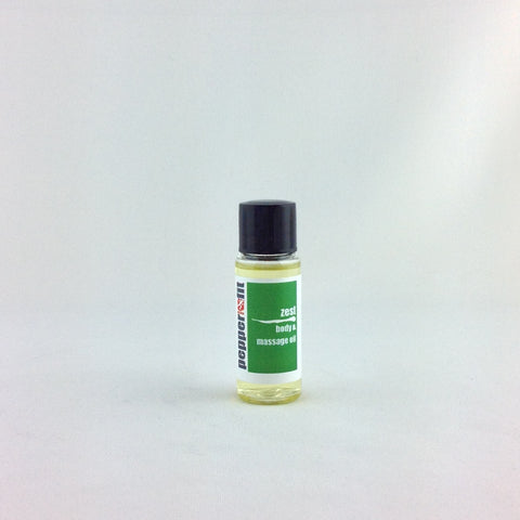 Zest Body & Massage Oil - Sample 20ml