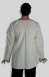Muslin Shirt with Long Sleeves
