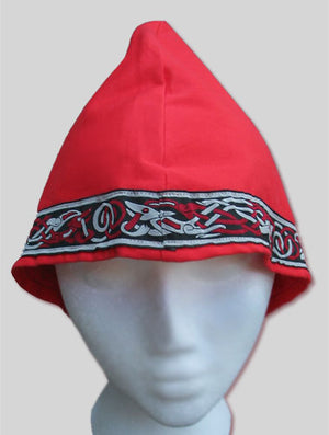 Custom-made Anglo-Saxon Hat