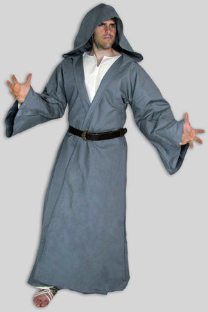 Robe/Coat with Opening, Hood, and Sleeves; In-Stock ready to ship