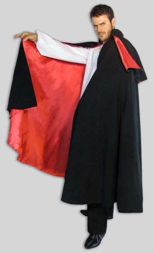 Victorian Cape lined in Satin