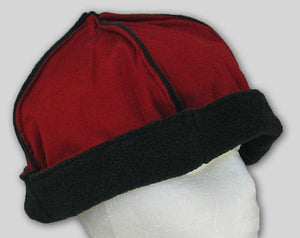 Two-color Fleece Hat