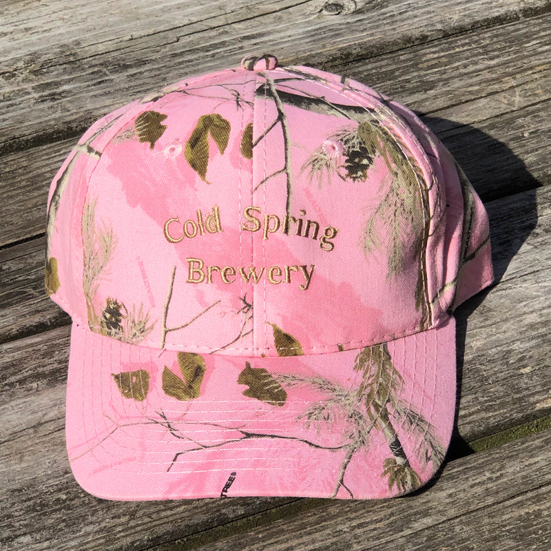 Cold Spring Brewery Pink Camouflage Hat