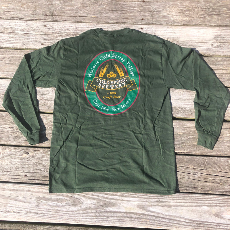 Cold Spring Brewery LS Tee - Green