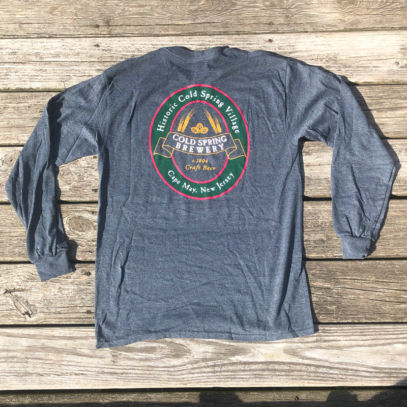 Cold Spring Brewery LS Tee - Grey