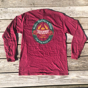 Cold Spring Brewery LS Tee - Red