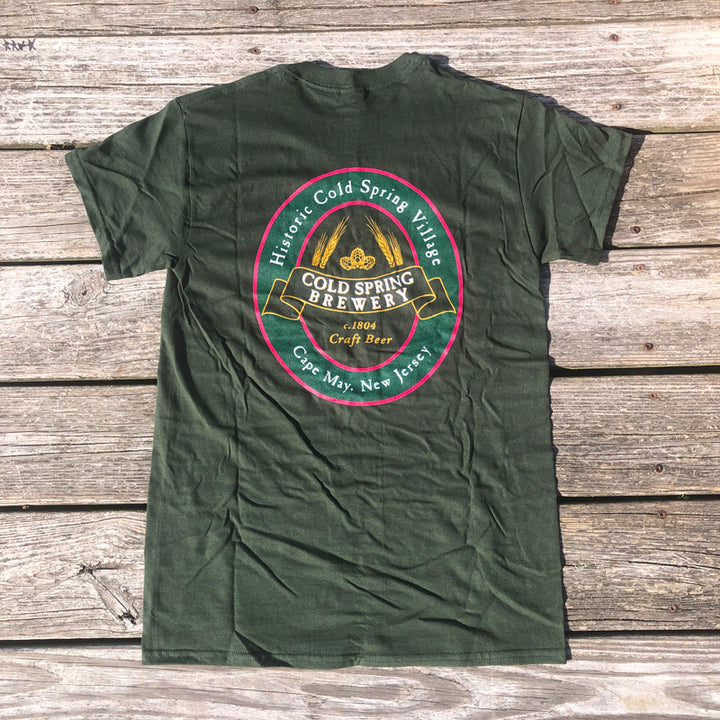 Cold Spring Brewery SS Tee - Green