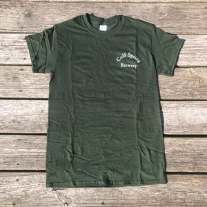 Cold Spring Brewery SS Tee - Green   XL SOLD OUT till Spring 2020