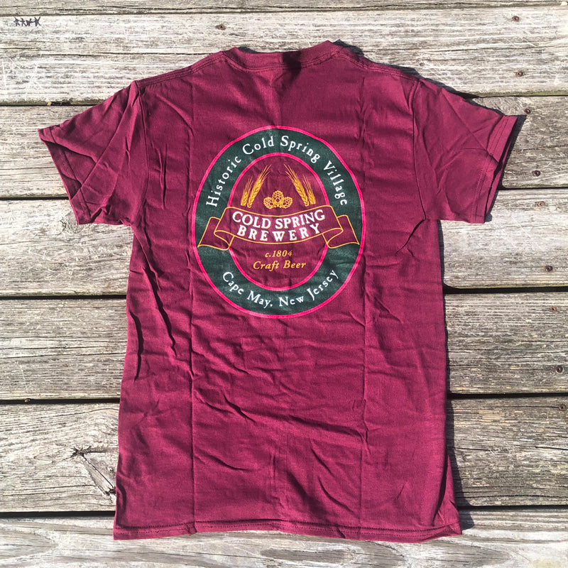 Cold Spring Brewery SS Tee - Red