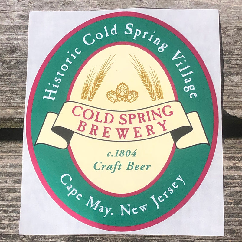 Cold Spring Brewery Sticker