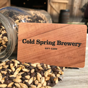 Cold Spring Brewery Gift Certificate