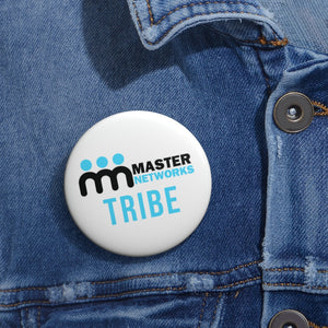 Master Networks Tribe Pin Buttons