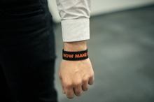 Load image into Gallery viewer, Now Make Good Wristband