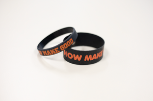 Now Make Good Wristband