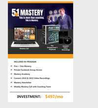 Load image into Gallery viewer, Mastery Coaching - annual membership