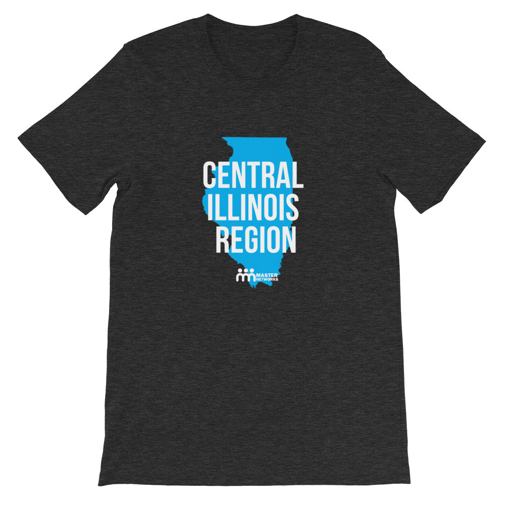 Central Illinois Region Short-Sleeve Unisex T-Shirt