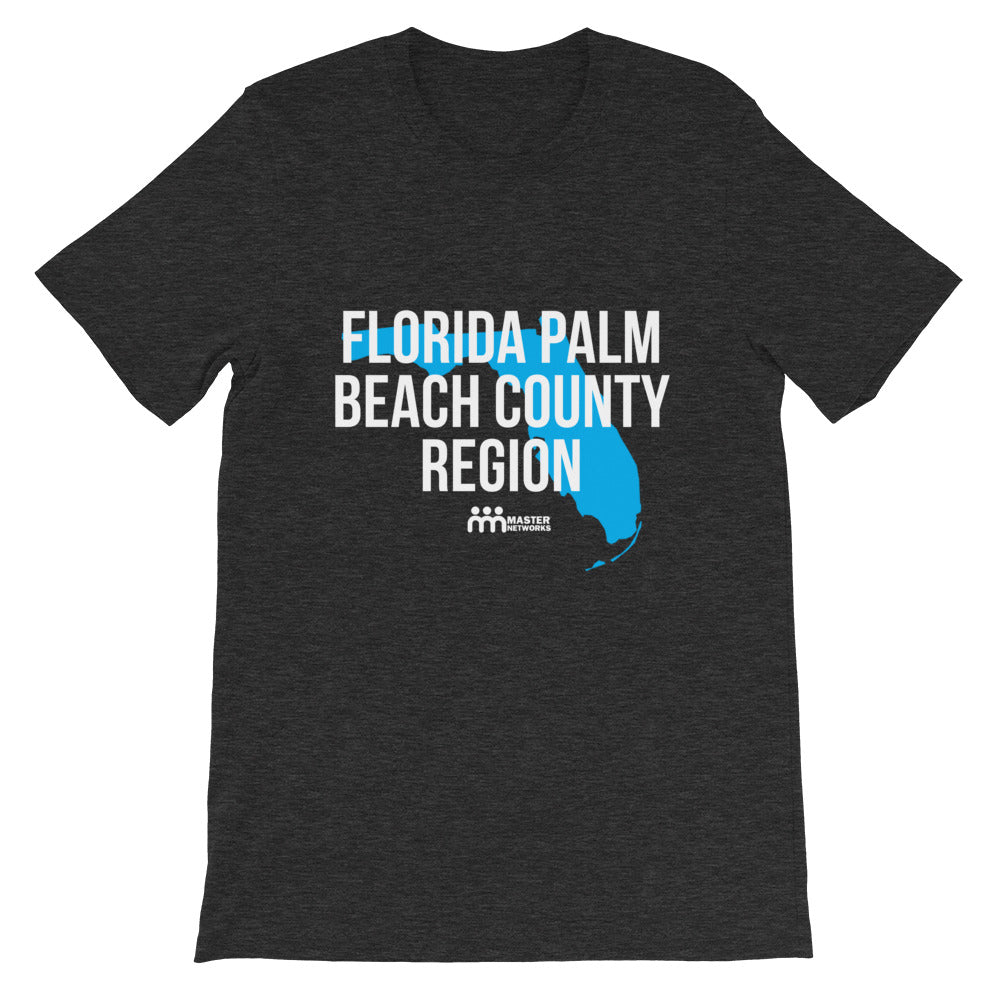 Florida Palm Beach County Region Short-Sleeve Unisex T-Shirt