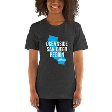 Load image into Gallery viewer, Oceanside San Diego Region Short-Sleeve Unisex T-Shirt