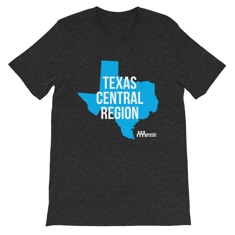 Texas Central Region Short-Sleeve Unisex T-Shirt