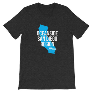 Oceanside San Diego Region Short-Sleeve Unisex T-Shirt