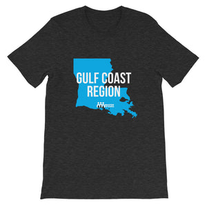 Gulf Coast Region Short-Sleeve Unisex T-Shirt