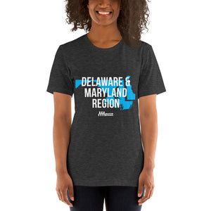 Delaware and Maryland Region Short-Sleeve Unisex T-Shirt