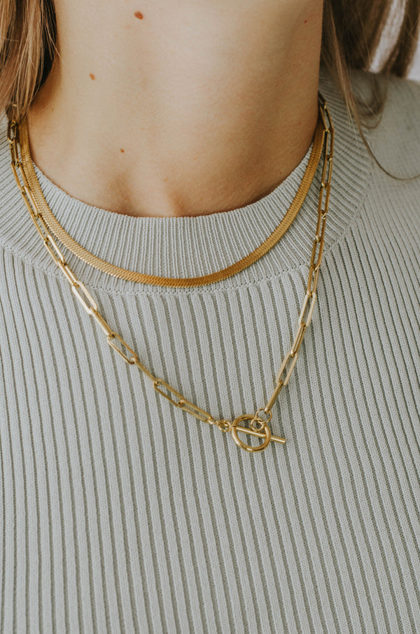 COLLAR HIP SNAKE CHAIN