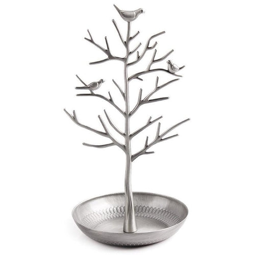 Bird Tree Jewelry Display Stand - 4 Colors Available