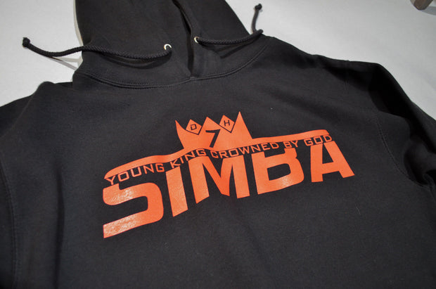 Black Simba Young King Crowned By God Sweatshirt
