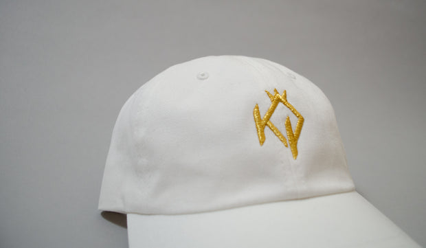 White KOP Dad Hat