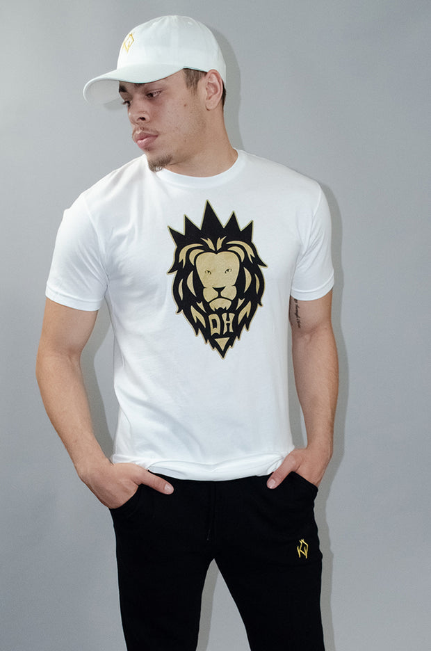 White Simba Draft T-shirt *Limited 'Royalty' Edition*