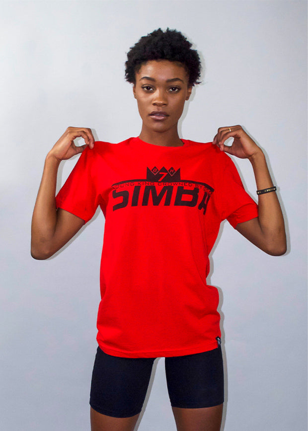 Red Simba Young King Crowned By God T-Shirt