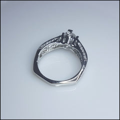 Shaped to Perfection Sterling Silver Ring