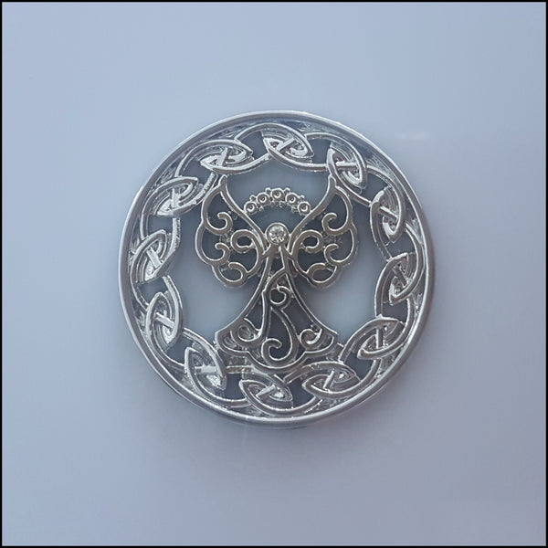 Coin for Coin Pendant - Angel Silver