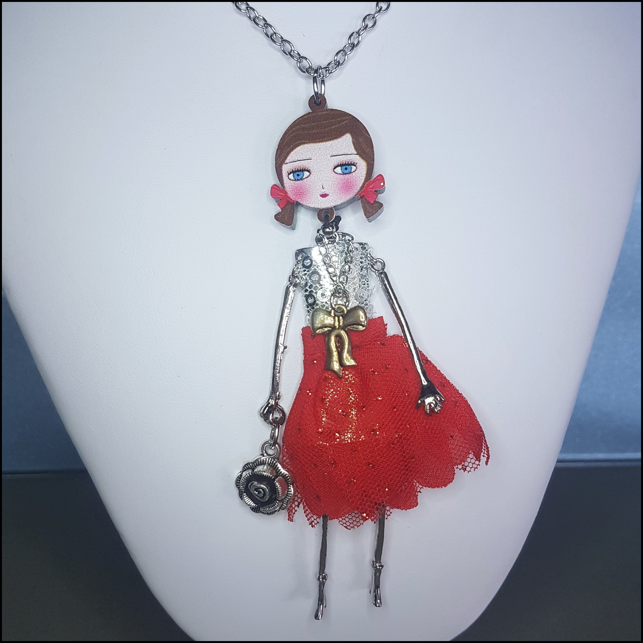 Bonsny Doll - Red Dress