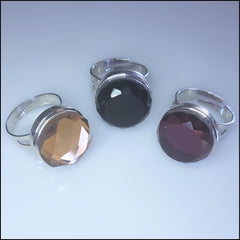Snap Button Adjustable Ring