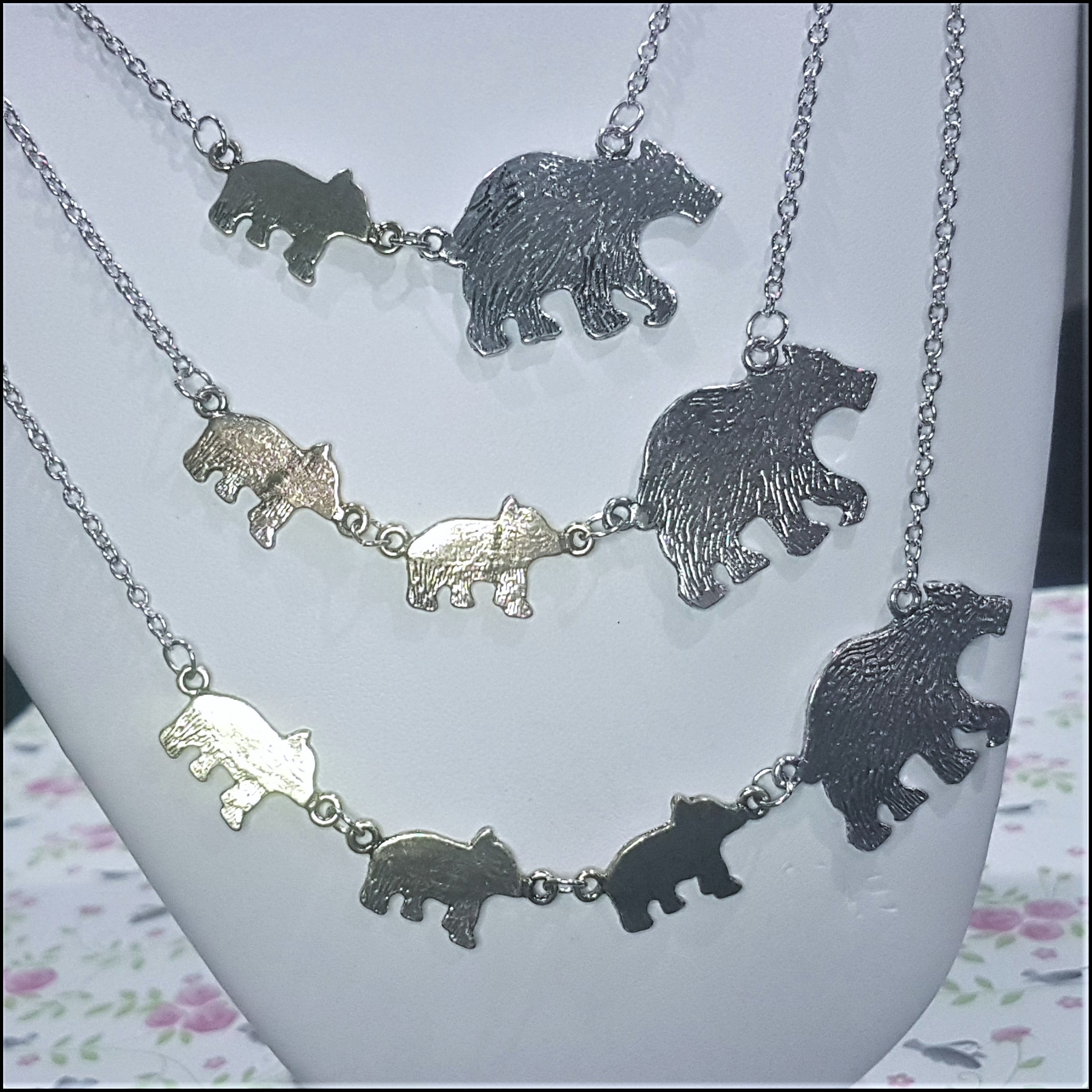 Mumma Bear Necklace