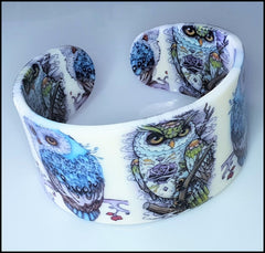 Bonsny Bangle - Owls