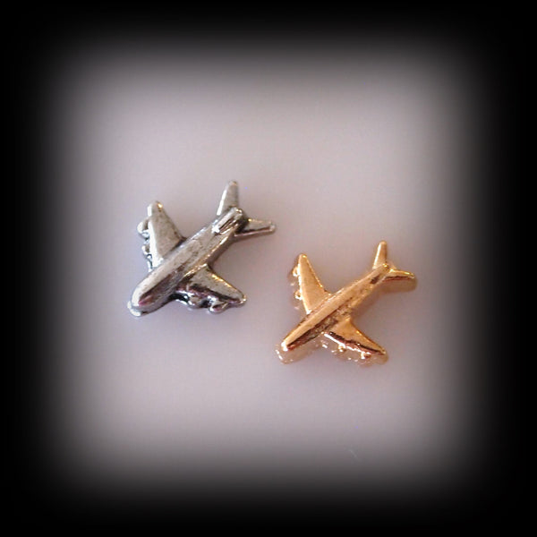 Aeroplane Floating Charm
