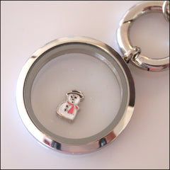 Snowman Floating Charm - Find Something Special