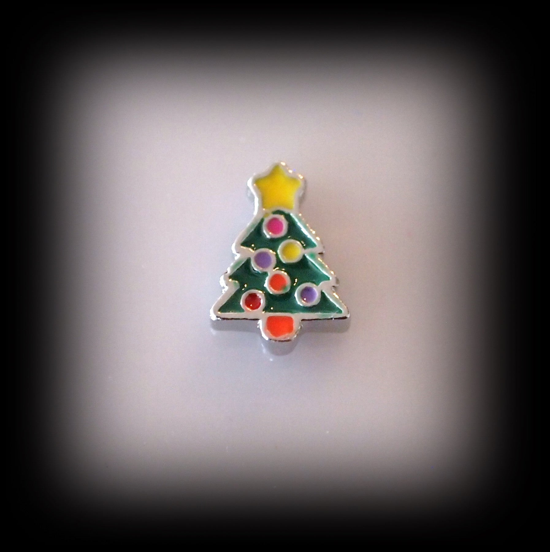Christmas Tree Floating Charm - Find Something Special