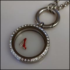 Red Stiletto Floating Charm - Find Something Special