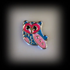 Owl Floating Charm - Find Something Special